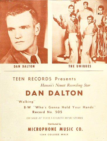 Dan Dalton Handbill