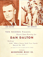 Dan Dalton Handbill