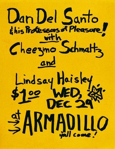 Dan Del Santo Handbill
