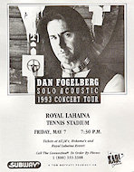 Dan Fogelberg Handbill