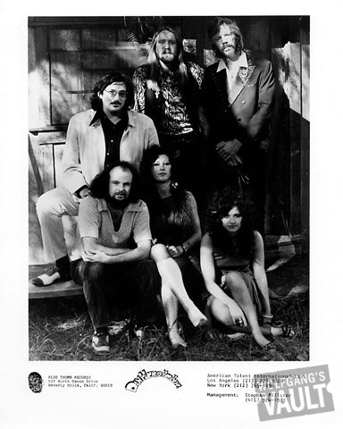 Dan Hicks & His Hot Licks Promo Print