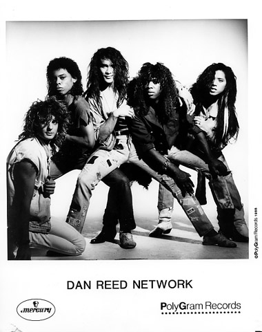 Dan Reed Network Promo Print