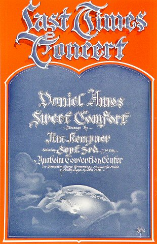 Daniel Amos Handbill