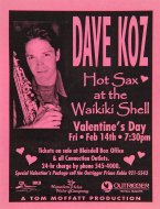 Dave Koz Handbill