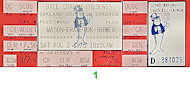 Robin Trower Vintage Ticket