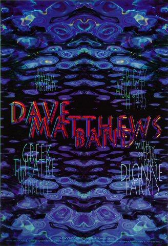Dave Matthews Band Poster