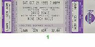 David Bowie/Nine Inch Nails 1990s Ticket