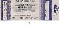 David Bowie 1990s Ticket