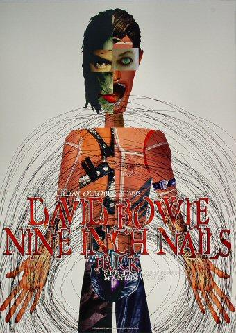 David Bowie/Nine Inch Nails Poster