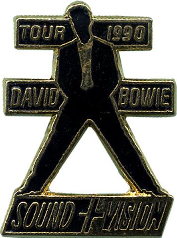 David BowieVintage Pin