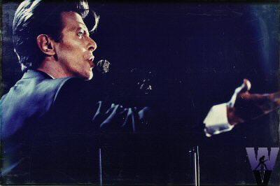 David Bowie Vintage Print