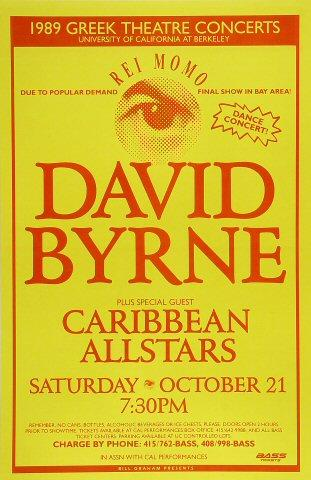 David Byrne Poster