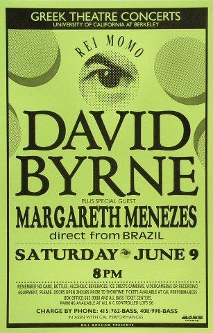 David Byrne Poster