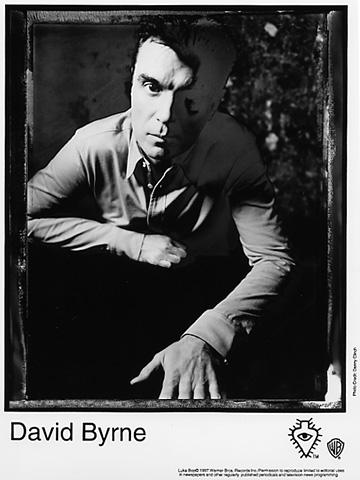 David ByrnePromo Print