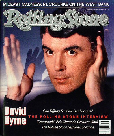 David ByrneRolling Stone Magazine