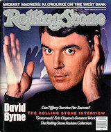 David Byrne Rolling Stone Magazine
