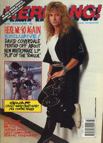 David CoverdaleMagazine