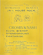 Crosby, Nash and Young Handbill