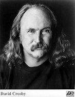 David Crosby Promo Print