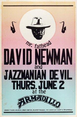 """David """"Fathead"""" Newman Poster"""