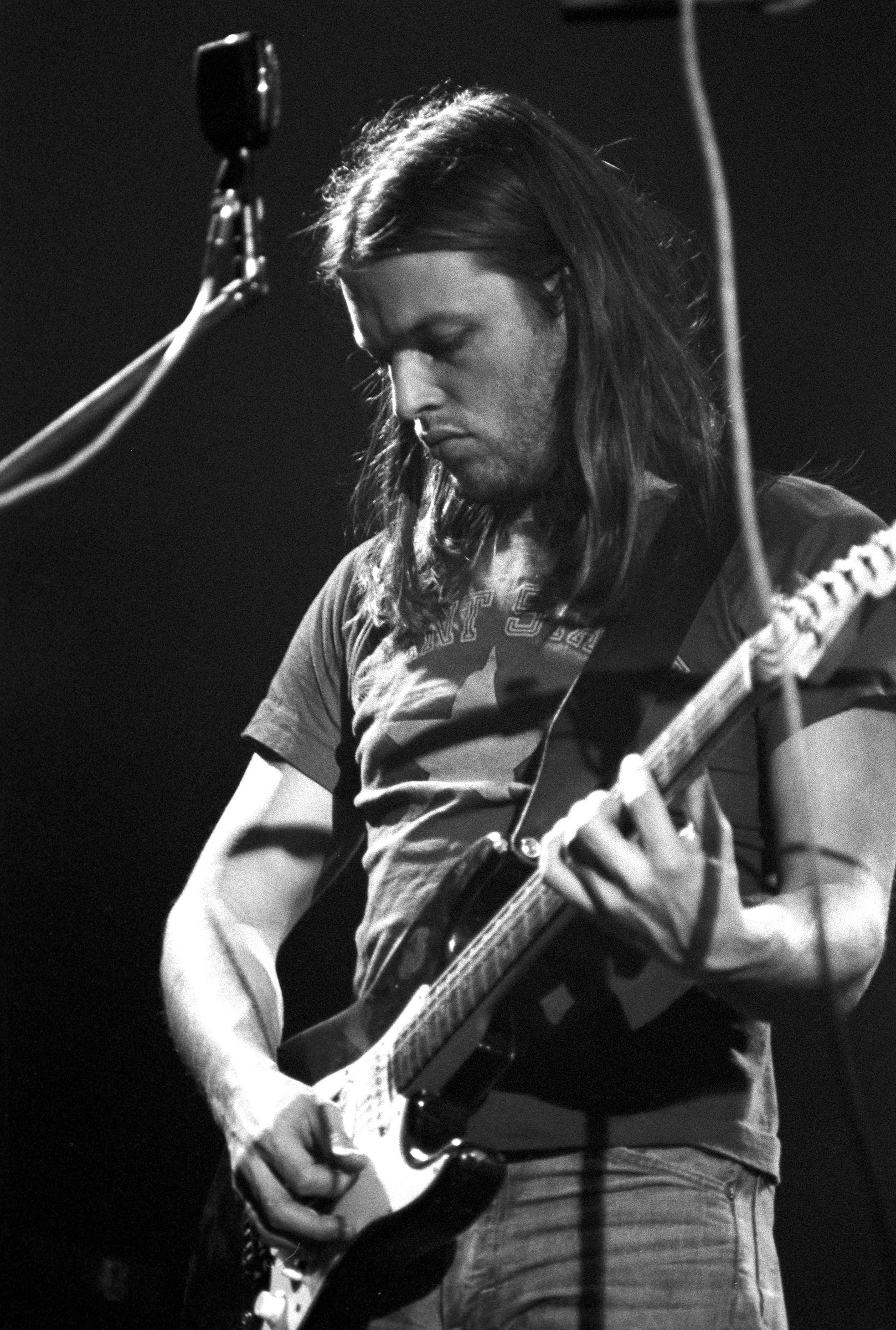 David GilmourFine Art Print