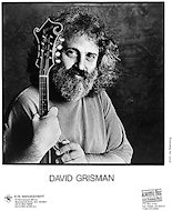 David Grisman Promo Print