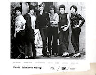 David Johansen Group Promo Print