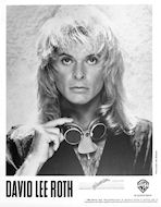 David Lee Roth Promo Print