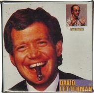 David Letterman Vintage Pin