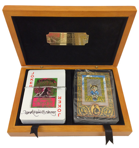 David Singer Project Playing Cards