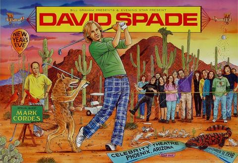 David Spade Poster