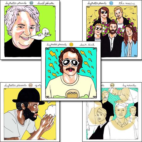 Daytrotter Vinyl Series Set No. 11-15Vinyl