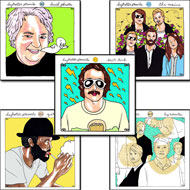 Daytrotter Vinyl Series Set No. 11-15 Vinyl