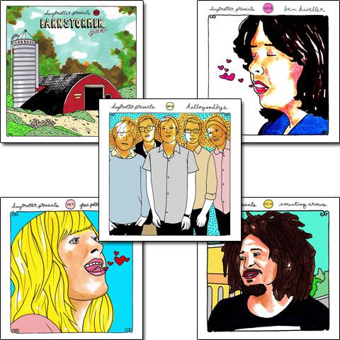 Daytrotter Vinyl Series Set No. 6-10Vinyl