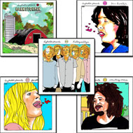Daytrotter Vinyl Series Set No. 6-10 Vinyl