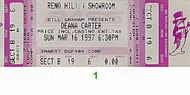 Deana Carter 1990s Ticket