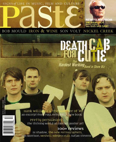 Death Cab For Cutie Paste Magazine