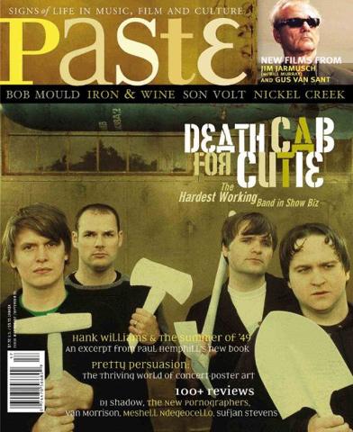 Death Cab For CutiePaste Magazine