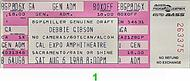 Debbie Gibson 1980s Ticket