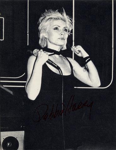 Deborah Harry Handbill