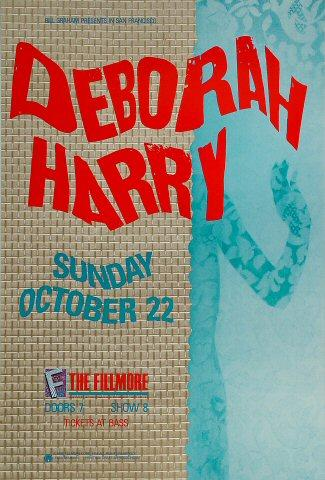 Deborah Harry Poster