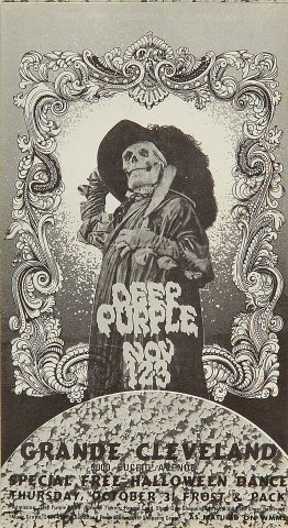 Deep Purple Handbill