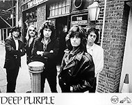 Deep Purple Promo Print