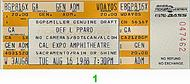 Def Leppard 1980s Ticket