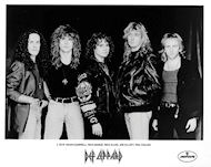 Def Leppard Promo Print