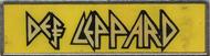 Def Leppard Vintage Pin