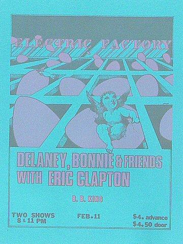 Delaney & Bonnie Handbill