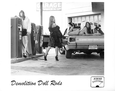 Demolition Doll Rods Promo Print