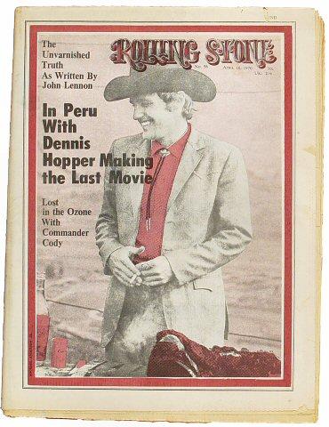 Dennis HopperRolling Stone Magazine