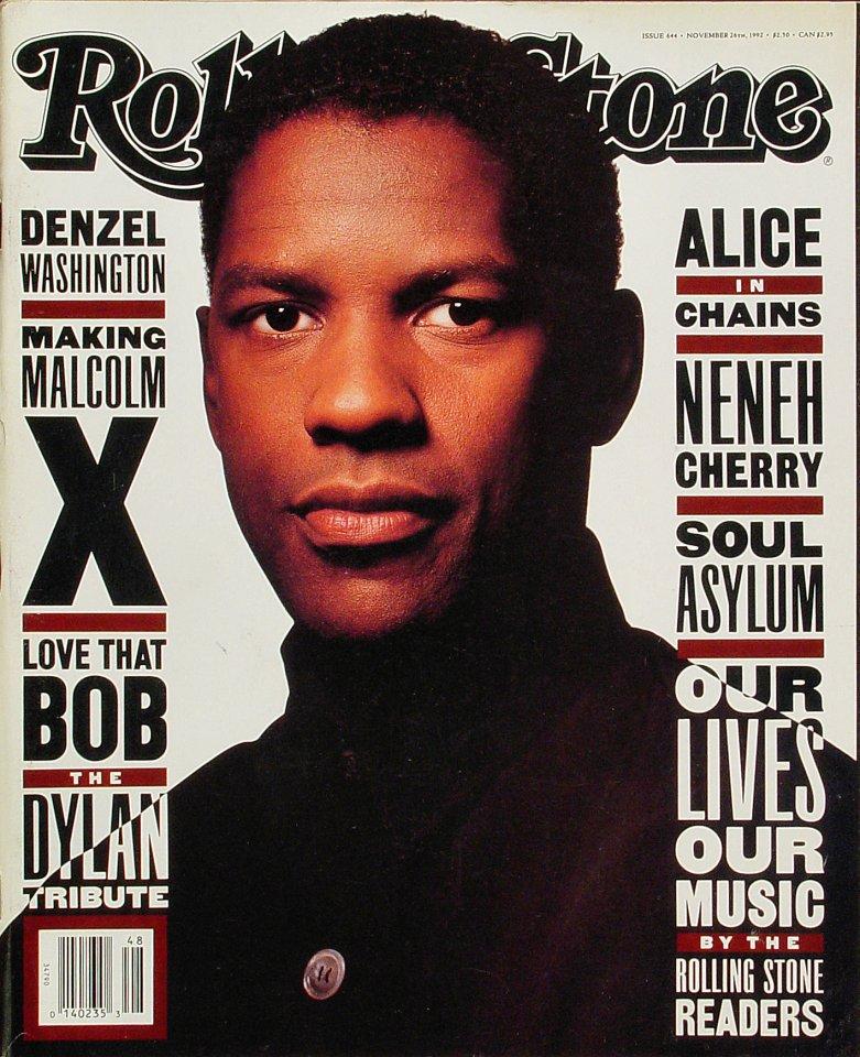 Denzel WashingtonRolling Stone Magazine